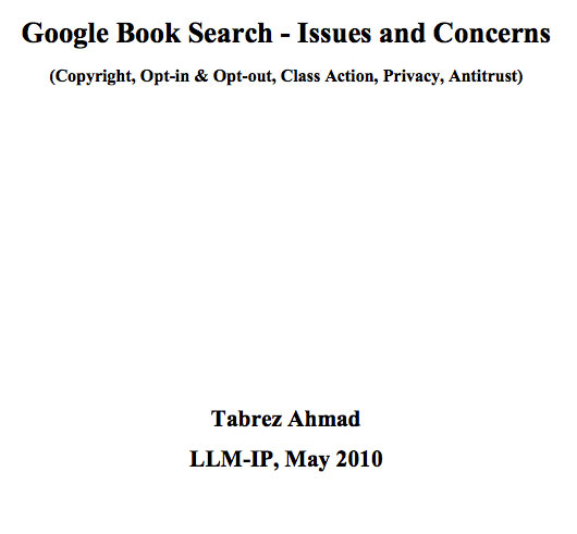 Google-Book-Search-Issues-and-Concerns