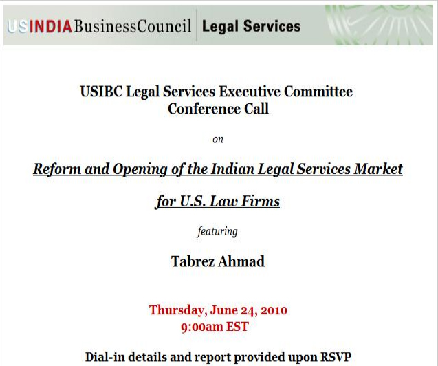 Talk-at-USIBC-on-regulatory-reform-and-opening-of-Indian-legal-market